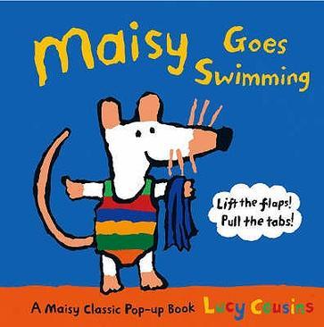 Maisy: Maisy Goes Swimming 波波去游泳(纸板书)