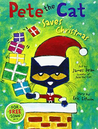 Pete the Cat Saves Christmas 皮特猫