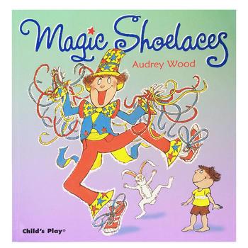 Magic Shoelaces 神奇的鞋带(附CD) 廖彩杏推荐英文原版童书 大开本