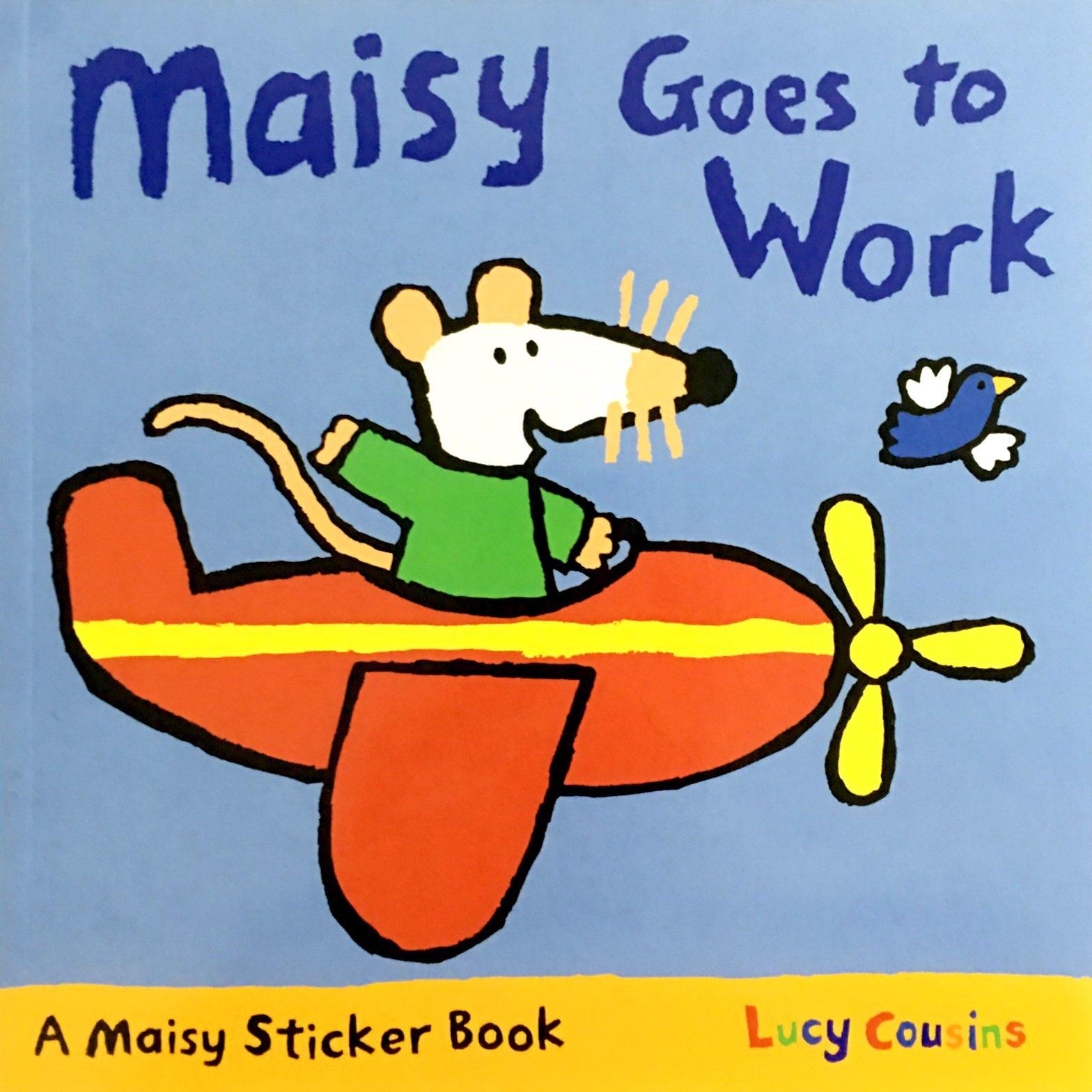Maisy: Maisy Goes to Work 波波去工作(平装)