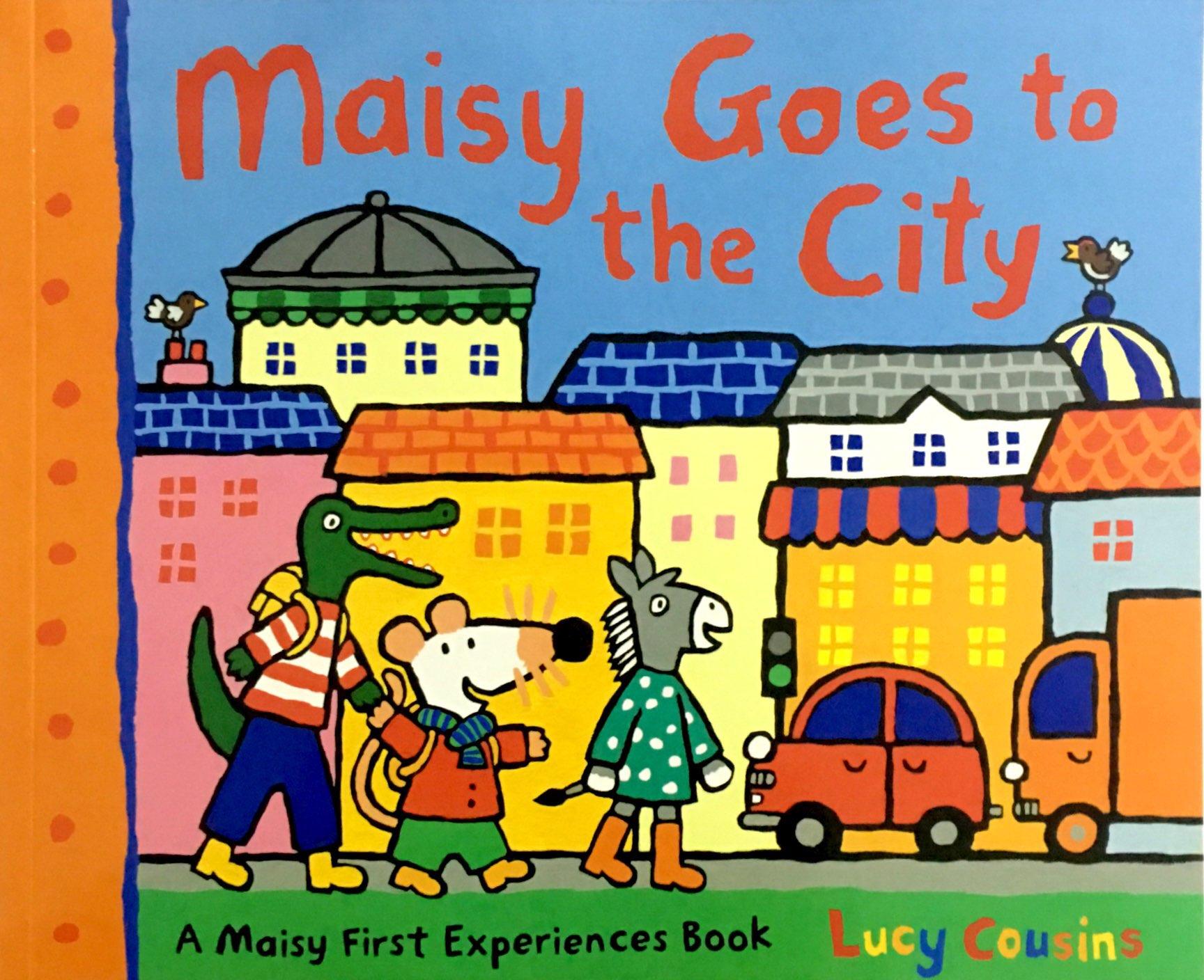 Maisy: Maisy Goes to the City 波波去城市(平装)