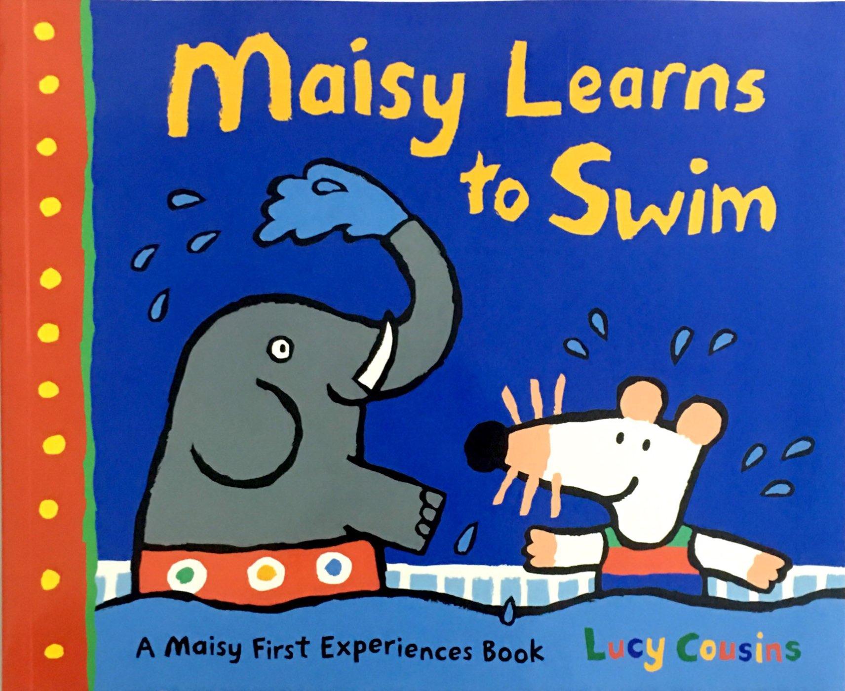 Maisy: Maisy Learns to Swim 波波学游泳(平装)
