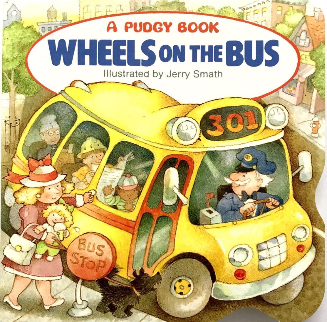 Wheels on the Bus巴士上的车轮 小纸板书
