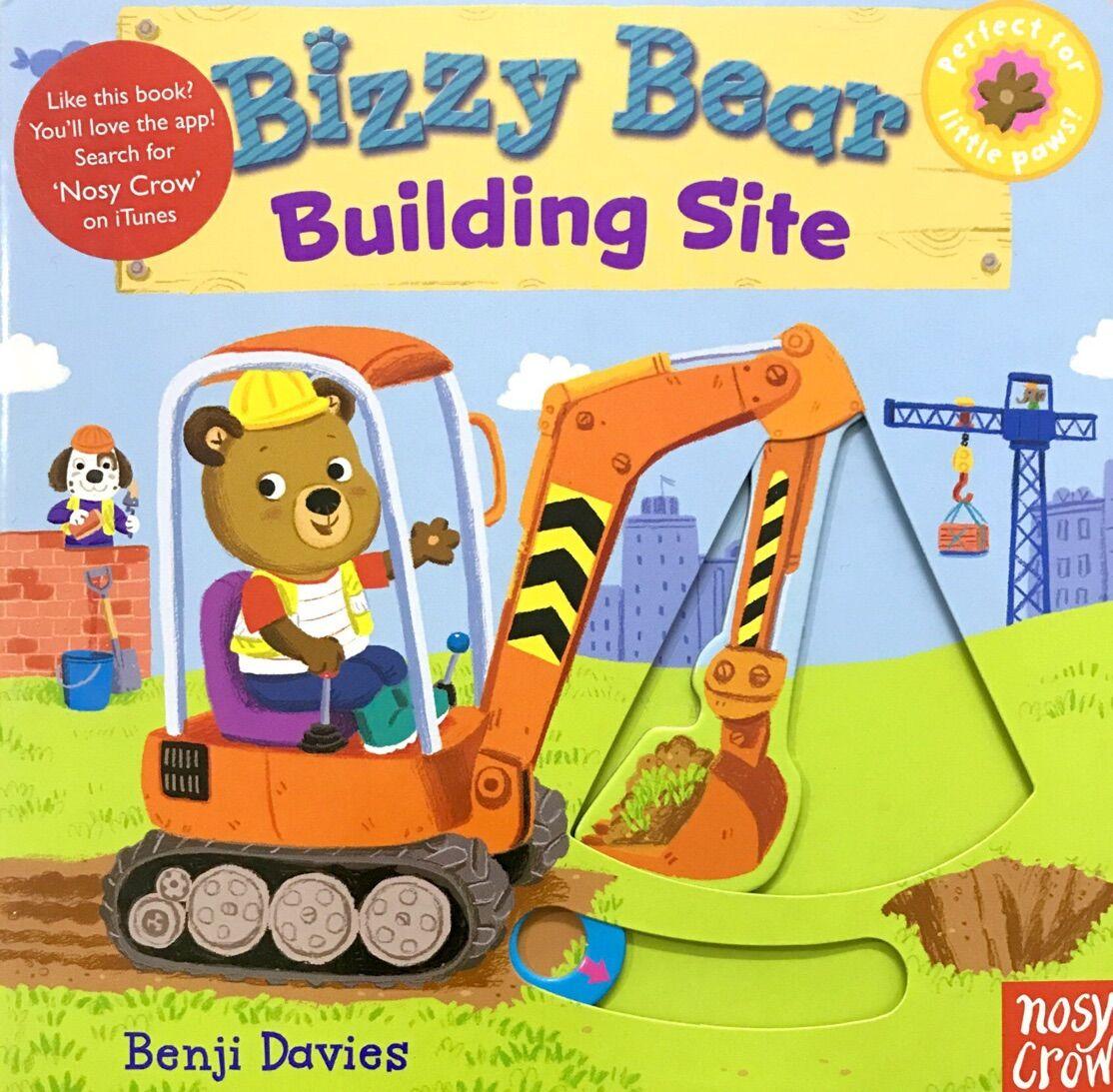 Bizzy Bear: Building Site 忙碌的小熊 工地小帮手 (有红标)