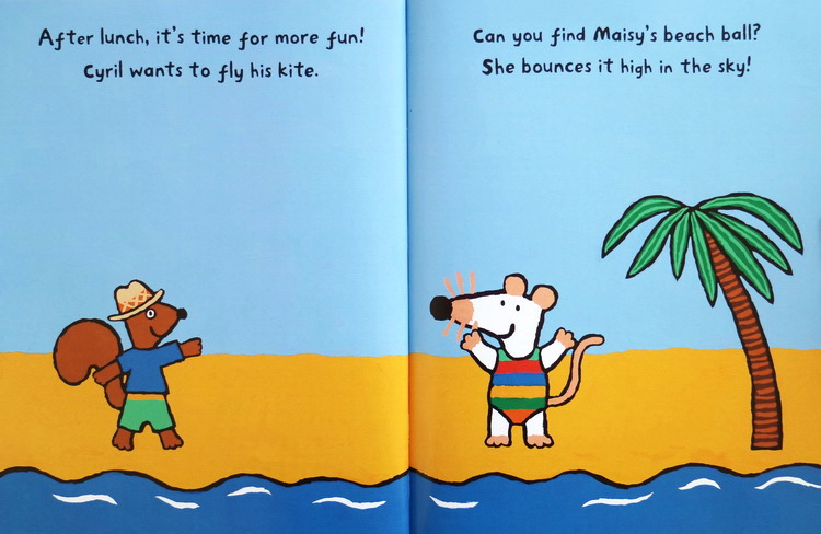 Maisy: Maisy at The Beach 波波去海边(平装)