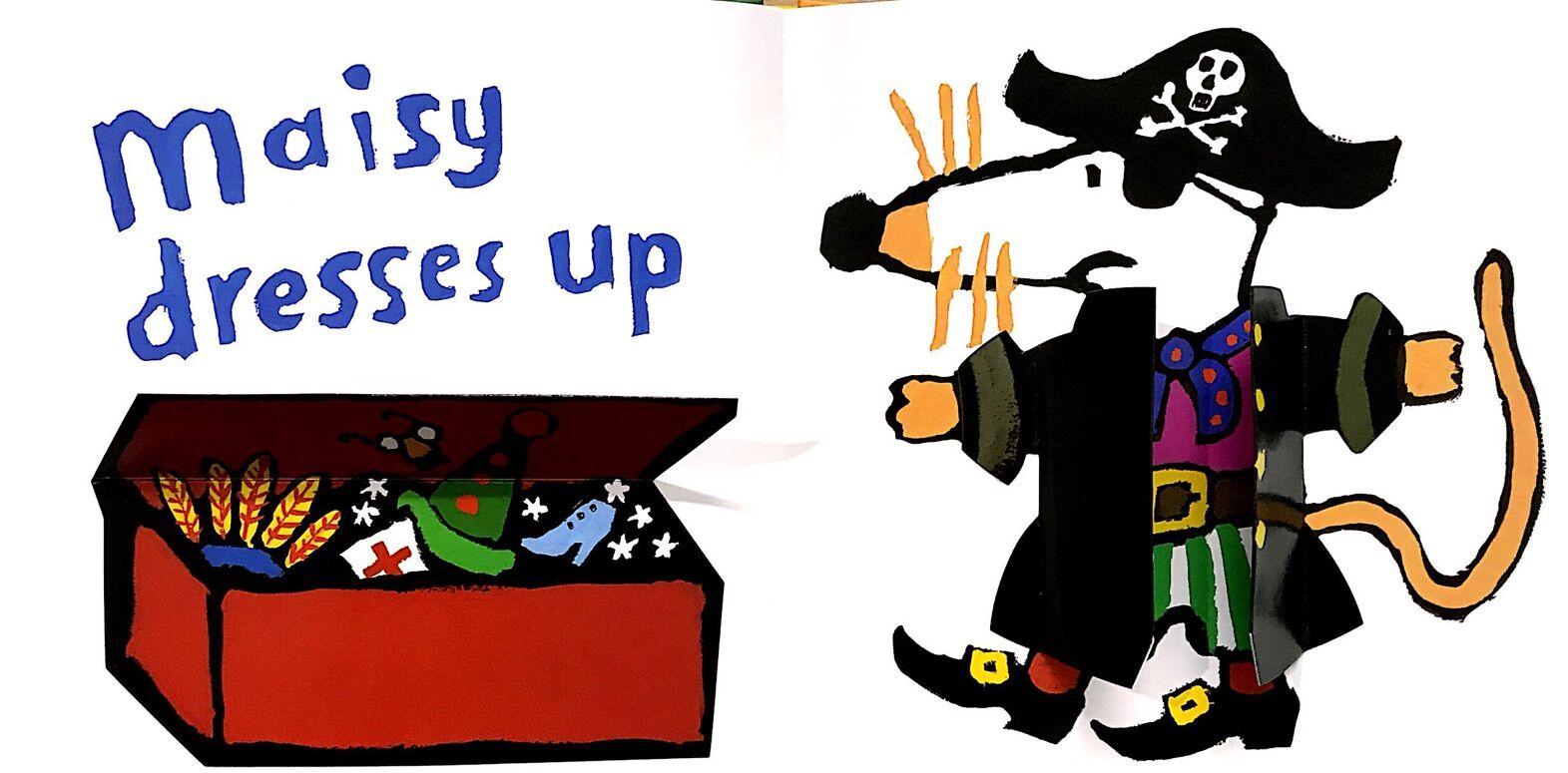 Maisy: Maisy Goes to Playschool 波波去幼儿游戏组(纸板书)