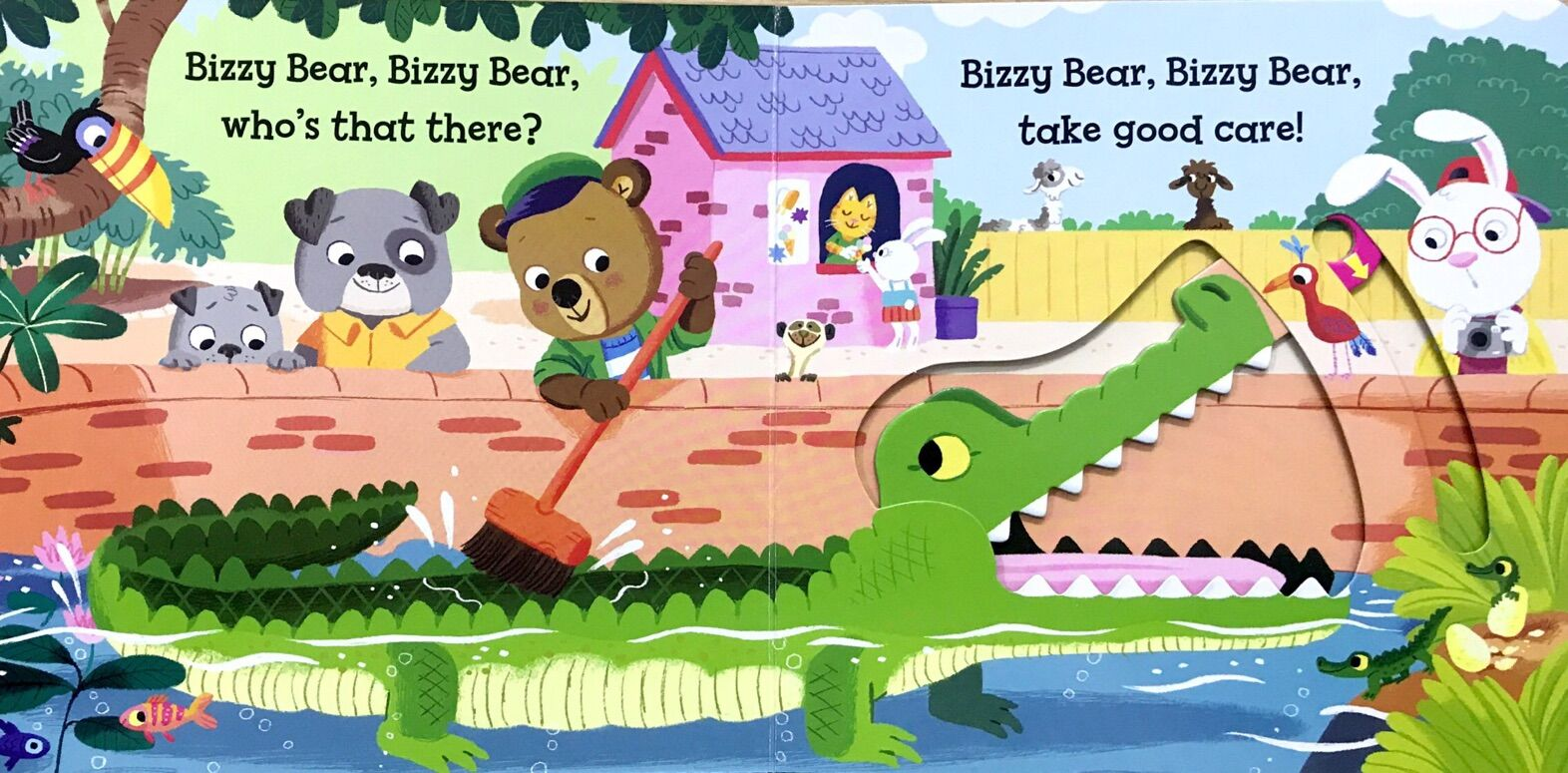 Bizzy Bear:Zoo Ranger 忙碌的小熊:管理员(有红标)