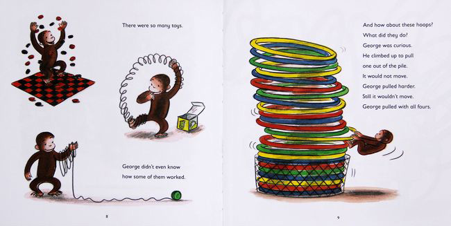 Curious George Visits a Toy Shop 好奇小猴乔治去玩具店