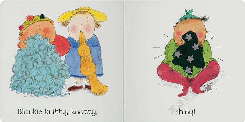 Child's Play 幼儿生活指导绘本  Blankies 小毛毯