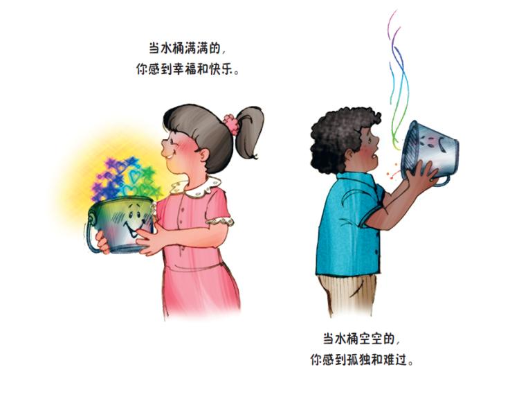 你把水桶加满了吗?:给孩子的幸福人生指南